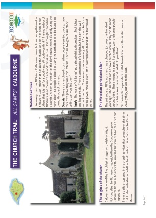Click to view Resource 100518 Church Trail - KS2 - Calbourne - All Saints