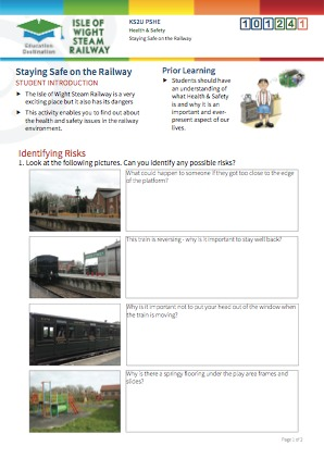 Click to view Resource 101241 Staying Safe on the Railway!