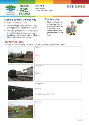 Click to view Resource 101242 Staying Safe on the Railway!
