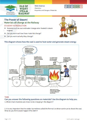 Click to view Resource 101081 The Power of Steam