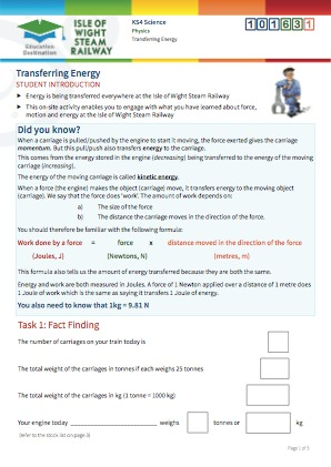 Click to view Resource 101631 Transferring Energy