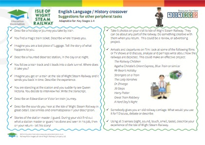 Click to view Resource 101999 English Language & History Crossover Resource Bank