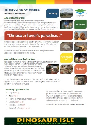 Parents overview for Dinosaur Isle