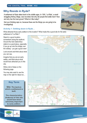 Click to view Resource 107565 IW Coastal Trail - KS2 - Ryde