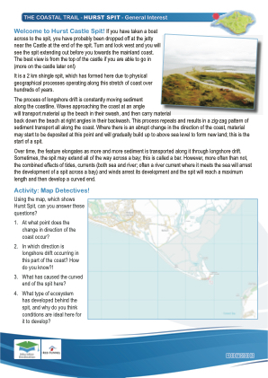 Click to view Resource 107603 IW Coastal Trail - Family/General Interest - Part 1 - Hurst Spit