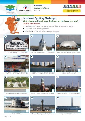 Click to view Resource 107413 Landmark Spotting Challenge!