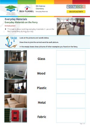 Click to view Resource 107032 Everyday Materials on the Ferry!