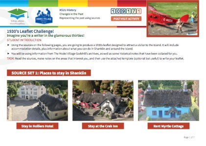 Click to view Resource 109171 1930s Leaflet Challenge!