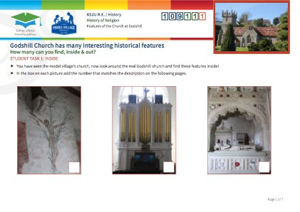 Click to view Resource 109111 Historical Features of Godshill Church