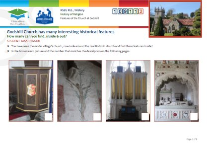 Click to view Resource 109112 Historical Features of Godshill Church