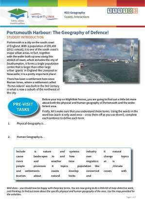 Click to view Resource 111103 Interactions: The Geography of Defence!