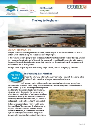 Click to view Resource 111112 Coastal Ecosystems: The Key to Keyhaven!