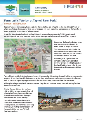 Click to view Resource 152172 Farm-tastic Tourism at Tapnell!
