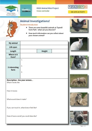 Click to view Resource 152016 Animal Mini-Project