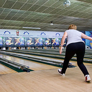 Education Destination students Ten Pin Bowling