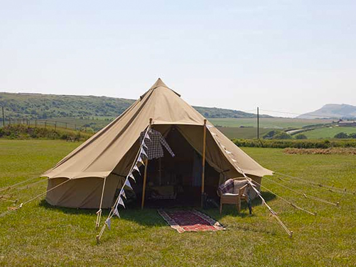 Picture of Bell Tents @ Tapnell (AA)