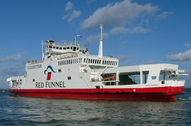 Red Funnel Vehicle Ferries Southampton - East Cowes