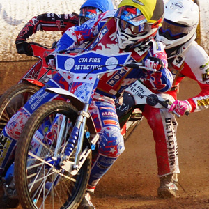 Speedway with Wight Warriors Logo