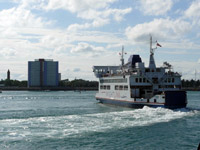 External picture of Wightlink Ferries