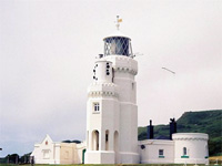 External picture of St Catherines Lighthouse